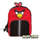 【Angry Birds】憤怒鳥 俏皮造型安全反光護脊後背書包(紅色)
