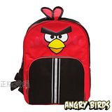 【Angry Birds】憤怒鳥㊣版授權 立體造型反光護脊後背書包(紅色)