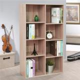 【奧克蘭】八格書櫃/收納櫃-兩色可選
