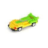 【UTICO】智慧手機遙控積木車第二代-TRANSPAG 變形跑車(黃綠)