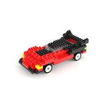 【UTICO】智慧手機遙控積木車第二代-TRANSPAG 變形跑車(紅黑)