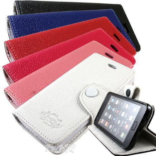 KooPin HTC Desire U ^(微笑機^) 雙料縫線 側掀^(立架式^)皮套