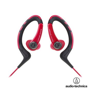鐵三角 ATH-SPORT1防水運動型專用耳掛耳塞式耳機