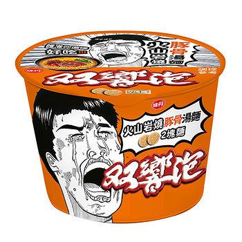 味丹雙響泡火山岩燒豚骨湯桶麵110g*3入