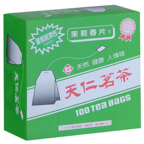 天仁茉莉香片經濟包2g~100包盒