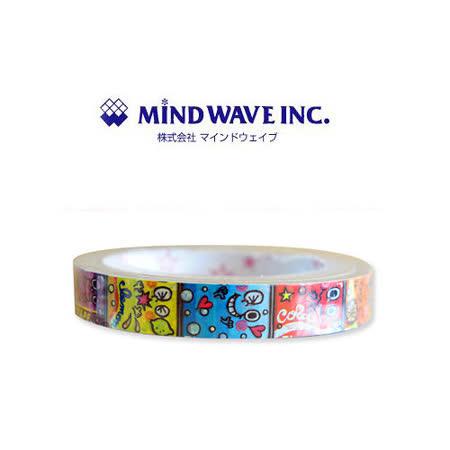 日本 MIND WAVE 可愛膠帶-水果精靈