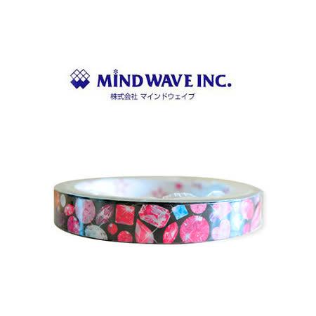 日本 MIND WAVE 可愛膠帶-鑽石