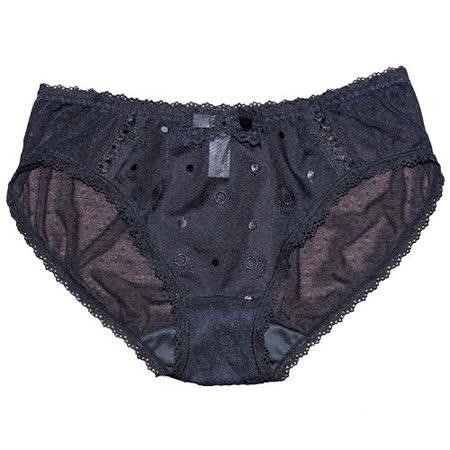 【Lofan露蒂芬】WISH 網紗美臀小褲 (黑/M.L) (SA3382-BLK)