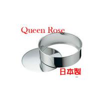 日本霜鳥Queen Rose不鏽鋼圓形蛋糕模 (小15cm)