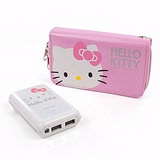 Hello Kitty 電力銀行II 7800mAh行動電源 - 白色