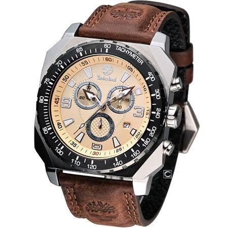 Timberland STRATHAM潮流計時腕錶 TBL 13324JSTB 07