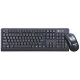 KINYO 低噪音標準PS2鍵盤+USB滑鼠組(KBM-360)