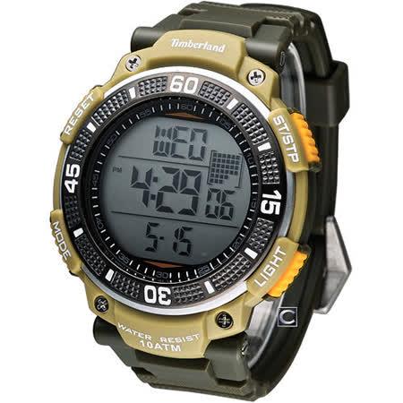 Timberland CADION潮流電子腕錶 TBL 13554JPGNU 04