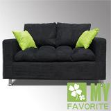 最愛傢俱 - 普羅旺斯 兩人小型沙發(黑)