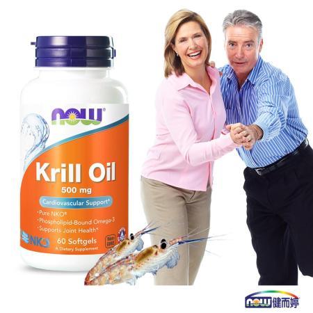 NOW健而婷-專利南極蝦精(NKO磷蝦油)  (60顆/瓶)