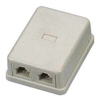 大通1變2美式接線盒PTA402