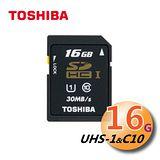 TOSHIBA 16GB SDHC UHS-I Class10 高速記憶卡(平輸)