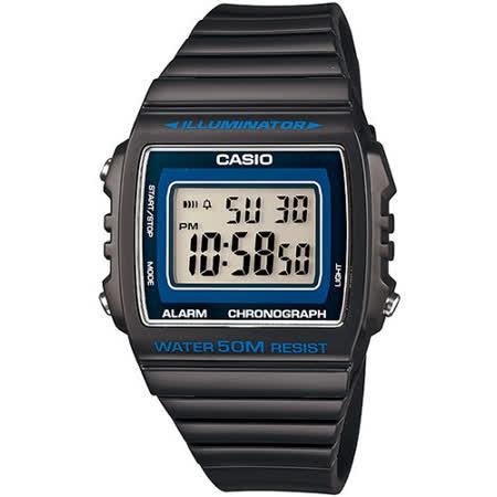 CASIO 繽紛個性馬卡龍休閒電子錶(深灰)