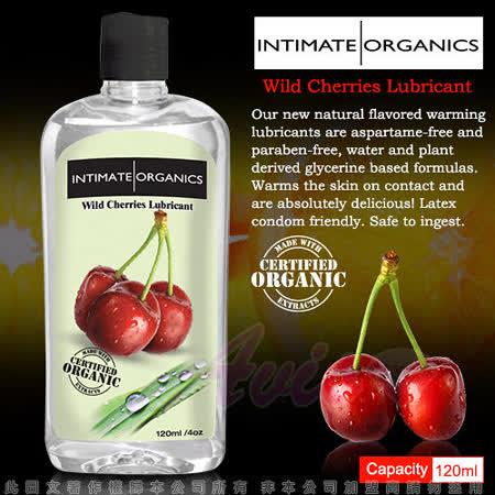 【超商取貨】加拿大INTIMATE-Wild cherry Warming lube 水果口味熱感潤滑液-野櫻桃(120ml)