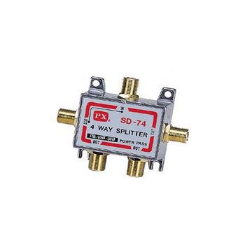 大通PX金鑽RF訊號四路分配器GSD-74