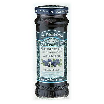 聖桃園天然野生小藍莓果醬284g