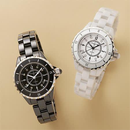 【Valentino 范倫鐵諾】永恆時光 J12全陶瓷腕錶(二色可選)