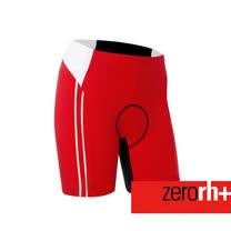 ZERORH+ 吸濕排汗素色造型耐力平口自行車褲(女)★單車推薦★ ECD0227