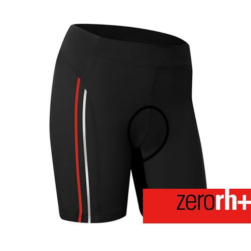 ZERORH 吸濕排汗素色 耐力平口自行車褲 女 ~單車 ~ ECD0227