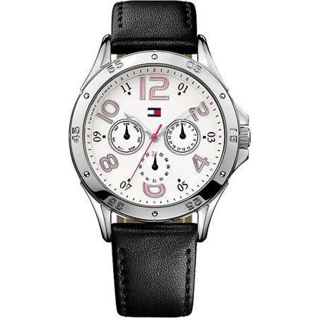 【好物推薦】gohappy線上購物TOMMY HILFIGER 雅典時尚日曆腕錶-白/黑 M1781178開箱遠東 購物 中心