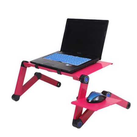 全新升級新一代大風扇多功用鋁合金筆電桌