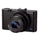 SONY DSC-RX100 II 二代大感光片幅數位相機(公司貨)-加送32GC10卡+專用鋰電池x2+防潮盒+相機包+座充+清潔組+保護貼+讀卡機+小腳架+HDMI線