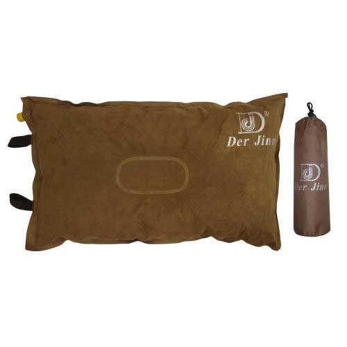 德晉麂皮 自動充氣枕頭8cm
