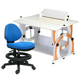 HAPPYHOME DIY兒童成長書桌椅組12色可選DE-100