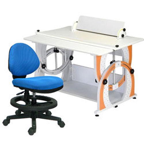 HAPPYHOME DIY兒童成長書桌椅組12色DE~100