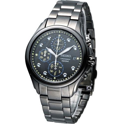 精工錶 SEIKO Criteria 綺麗饗宴 計時腕錶 7T92-0PE0SD SNDX67P1