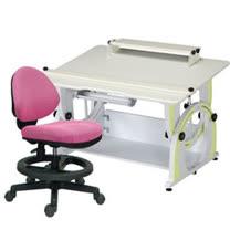 HAPPYHOME DIY兒童成長書桌椅組12色可選DE-100A