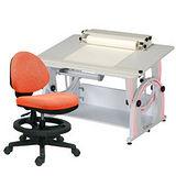 HAPPYHOME DIY兒童成長書桌椅組12色可選DF-100A