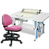 HAPPYHOME DIY兒童成長書桌椅組12色可選G-115AF