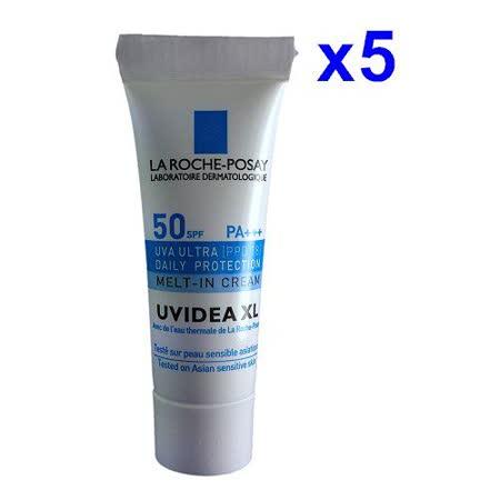 La Roche Posay 理膚寶水 全護臉部清爽防曬液SPF50 PA+++(自然色)3ml*5