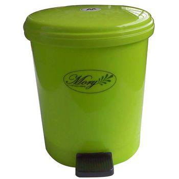 摩登踏式垃圾桶-(小)