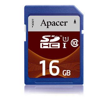 APACER SDHC USH-I 16G記憶卡-C10