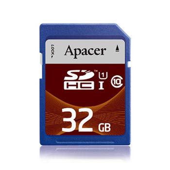 APACER SDHC USH-I 32G記憶卡-C10