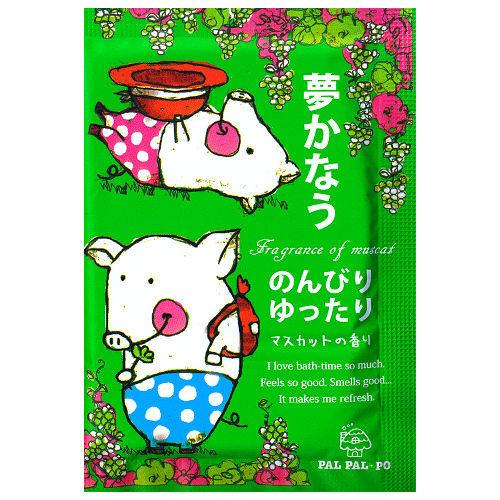 FFID-OL系列-Pal Pal Po入浴劑-悠閒青葡萄 25g(6入)