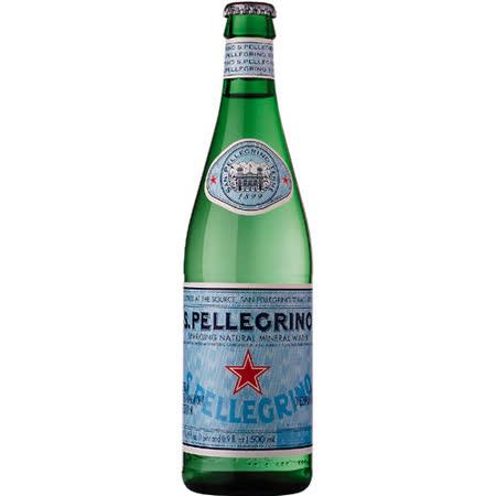 《S.Pellegrino》聖沛黎洛氣泡礦泉水(500mlx24瓶)