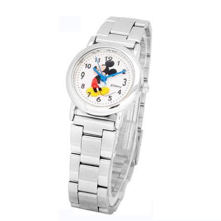 Disney可愛米奇側身立姿鐵帶石英錶