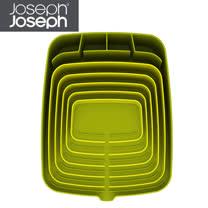 Joseph Joseph英國創意餐廚★可排水碗盤瀝乾架(綠綠)★85001