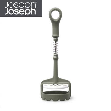 Joseph Joseph英國創意餐廚★壓壓樂搗泥器(灰)★SMLG011HC