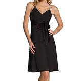 『摩達客』美國進口Landmark雙細肩帶黑色優雅紗裙派對小禮服/洋裝(含禮盒)