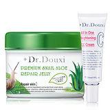 Dr.Douxi 朵璽 蝸牛蘆薈修護紓緩凍膜500ml+全效亮白CC霜30ml