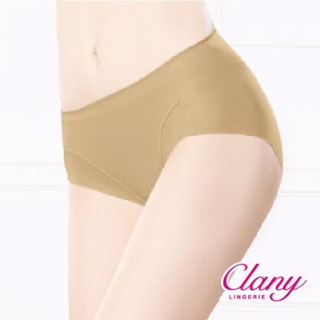 【可蘭霓Clany】健康抑菌竹炭中腰M-XL無痕內褲 (春漾膚 2156-11)